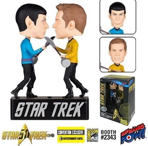 Star Trek - Kirk vs Spok Bobble Heads - Convention Exclusive_burned_burned (3)