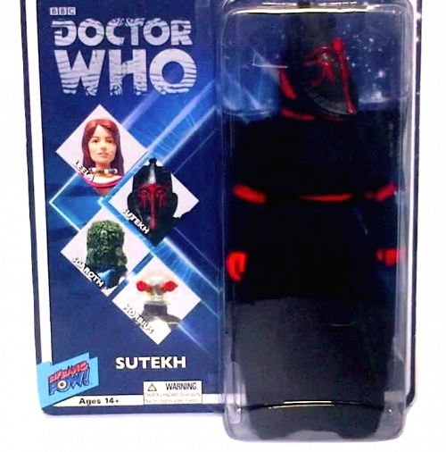 Dr Who Sutekh Burned