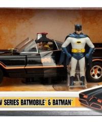 1-24_1966_Classic_TV_Series_Batmobile_w_Diecast_Batman_in_Packaging_burned