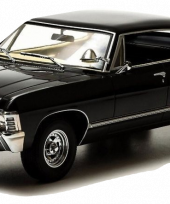 19001-GL-BLACK-1967-Chevy-Impala-4-door-sport-sedan-Hard-Top-Supernatural-TV-Show-Diecast-Model-_burned