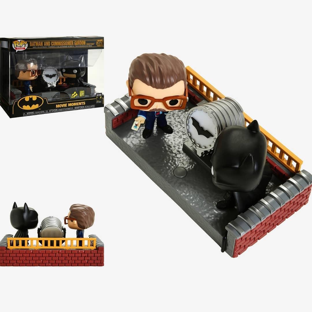 Batman and Commissioner Gordon Movie Moment Funko Pop! Producto Oficial